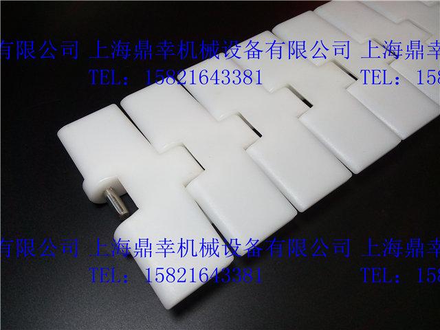 RT114利乐枕塑料转弯链板 平顶链